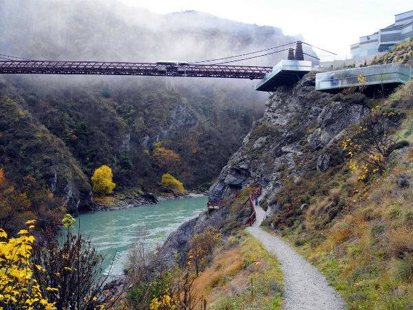 Мост Каварау (Kawarau Bridge)