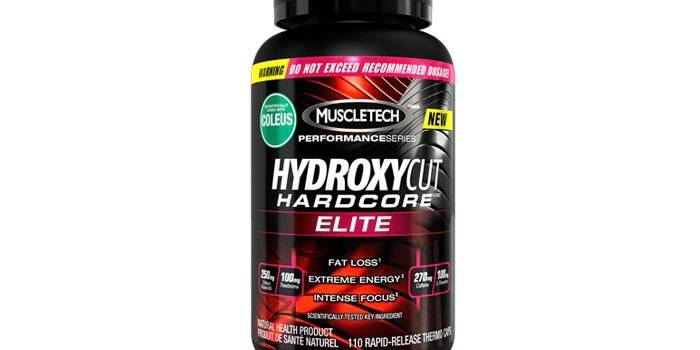 HydroxycutHardcore Elite MuscleTech